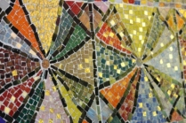 No. 59 of 70 images of MIRKA MORA'S FLINDERS ST STATION MURAL – Melbourne Australia Photographed by Karen Robinson 18th April 2015 NB All images are subject to copyright laws