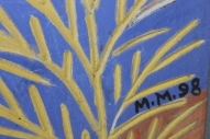 No. 70 of 70 images of MIRKA MORA'S FLINDERS ST STATION MURAL – Melbourne Australia Photographed by Karen Robinson 18th April 2015 NB All images are subject to copyright laws