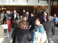 13 of 21 Regional Arts Victoria's Annual Members Celebration and AGM at the State Library of Victoria, Latrobe Street, Melbourne 30.05.2015 Photographed by Karen Robinson-Abstract Artist.JPG