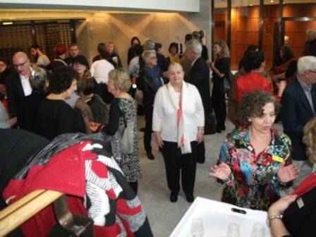 14 of 21 Regional Arts Victoria's Annual Members Celebration and AGM at the State Library of Victoria, Latrobe Street, Melbourne 30.05.2015 Photographed by Karen Robinson-Abstract Artist.JPG