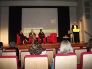 15 of 21 Regional Arts Victoria's Annual Members Celebration and AGM at the State Library of Victoria, Latrobe Street, Melbourne 30.05.2015 Photographed by Karen Robinson-Abstract Artist.JPG
