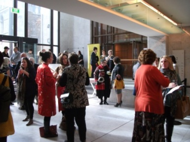 8 of 21 Regional Arts Victoria's Annual Members Celebration and AGM at the State Library of Victoria, Latrobe Street, Melbourne 30.05.2015 Photographed by Karen Robinson-Abstract Artist.JPG