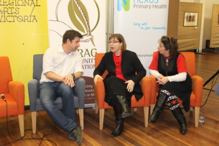 No. 2 of 3 Creative Conversations with Regional Arts Victoria - Panel Discussion with Speakers and Audience - Photographed by Karen Robinson - Abstract Artist 10th July 2015.JPG