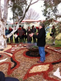 No. 3 of 3 Creative Conversations with Regional Arts Victoria - Welcome to Country - Ian Hunter Wurrundjeri Elder Photographed by Karen Robinson - Abstract Artist www.idoartkarenrobinson.com 10th July 2015.JPG