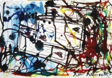 No. 1-4 Creative Writing Group - Artwork Titled 'Not A Game - But A Real Necessity'Schmincke Ink-A4 Paper by Karen Robinson - Abstract Artist 11.10.15 All images-stories are copyright protected.JPG