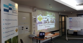 2 of 3 Facilities where Karen Robinson as Road Trauma Awareness Seminar Facilitator-Educator at Frankston, Melbourne Australia delivers RTSSV's Program January 2016 NB All images are protected by copyright laws