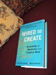 3 of 4 Book Review by Karen Robinson - 'Wired to Create' Authors Scott Barry Kaufman & Carolyn Gregoire NB All images are protected by copyright laws