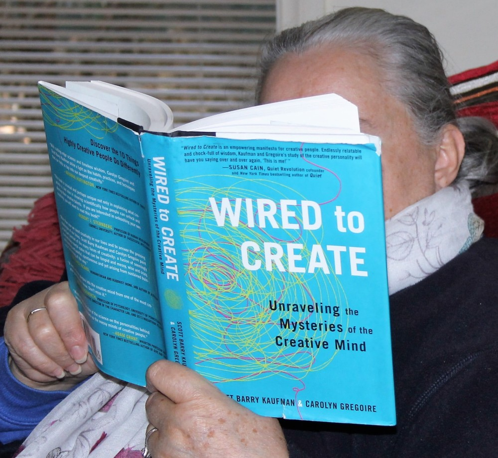4 of 4 Book Review by Karen Robinson - 'Wired to Create' Authors Scott Barry Kaufman & Carolyn Gregoire NB All images are protected by copyright laws