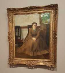 1 of 2 Victoria Dubourg c 1868-69 oil on canvas 81.3 x 64.8cm - Edgar Degas - Toledo Museum of Art Ohio. Gift of Mr and Mrs William E. Levis. Photographed by Karen Robinson July 2016