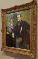 1 of 4 Edmondo and Therese Morbilli c. 1865 oil on canvas 116.5 x 888.3 cm - Edgar Degas Museum of Fine Arts, Boston Gift of Robert Treat Paine, 2nd. Photographed by Karen Robinson July 2016