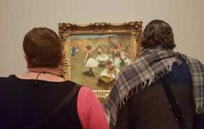 11 of 20 'DEGAS - A NEW VISION' Exhibition NGV July 2016 - Scene Photos taken by Karen Robinson NB All images are protected copyright