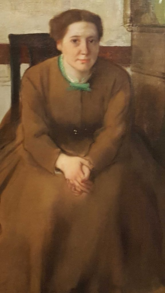 2 of 2 Victoria Dubourg c 1868-69 oil on canvas 81.3 x 64.8cm - Edgar Degas - Toledo Museum of Art Ohio. Gift of Mr and Mrs William E. Levis. Photographed by Karen Robinson July 2016