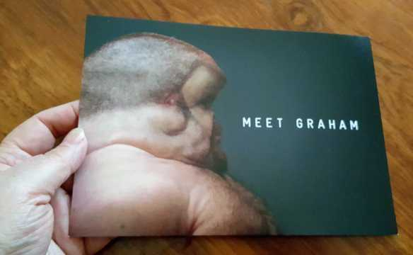 No. 13 'Meet Graham' Sculpture by Patricia Piccinini at the State Library Victoria & commissioned by TAC 2016 Photographed by Karen Robinson