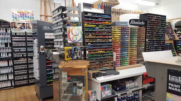 No. 2-3 Store View - Senior Art Supplies, 21 Degraves Street, Melbourne, Australia - Photo taken by Karen Robinson 29.7.2016 NB All images are protected by copyright laws