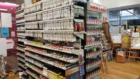 No. 3-3 Store View - Senior Art Supplies, 21 Degraves Street, Melbourne, Australia - Photo taken by Karen Robinson 29.7.2016 NB All images are protected by copyright laws