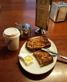 2 of 4 Cafe inside CAE on Flinders Lane, Melbourne, Australia - Photograph taken by Karen Robinson August 2016 NB All images are protected by copyright laws