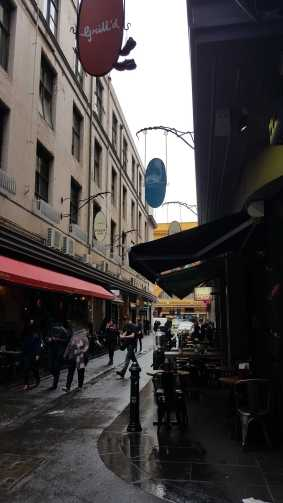 14-15 Degraves Street, Melbourne, Australia - Photograph taken by Karen Robinson August 2016 NB All images are protected by copyright laws