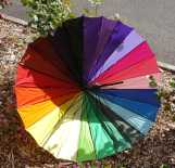 3 of 3 Creative Writing September 2016 Session One - Rainbow Umbrella Story Photograph by Karen Robinson NB All images are protected by copyright laws