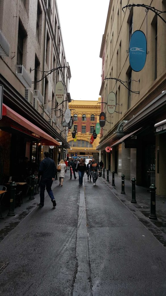 1 of 3 Corner of Degreaves & Flinders Lane, Melbourne, Australia - Photograph taken by Karen Robinson Oct 2016 NB All images are protected by copyright laws