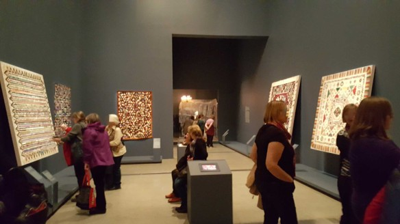 13 'Making the Australian Quilt' Exhibition at the Ian Potter Centre - NGV Australia - Photographed by Karen Robinson - August 2016 NB All images are protected by copyright laws
