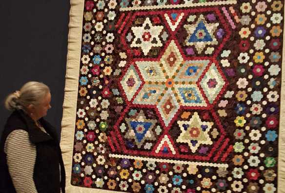 15 'Making the Australian Quilt' Exhibition at the Ian Potter Centre - NGV Australia - Photographed by Karen Robinson - August 2016 NB All images are protected by copyright laws