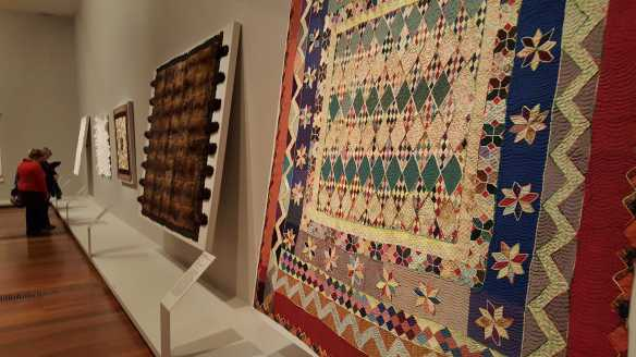 18 'Making the Australian Quilt' Exhibition at the Ian Potter Centre - NGV Australia - Photographed by Karen Robinson - August 2016 NB All images are protected by copyright laws