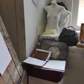 2 of 13 Class 10 'Produce Drawings' CAE Class - Certificate 111 in Visual Arts - Photograph by Karen Robinson Oct 2016 NB images protected by copyright laws