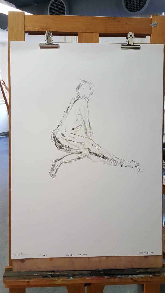 3 of 15 Class 12 'Produce Drawings' CAE Class - Certificate 111 in Visual Arts - Life Drawing & Photograph by Karen Robinson Oct 2016 NB images protected by copyright laws