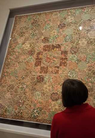 5 'Making the Australian Quilt' Exhibition at the Ian Poter Centre - NGV Australia - Photographed by Karen Robinson - August 2016 NB All images are protected by copyright laws