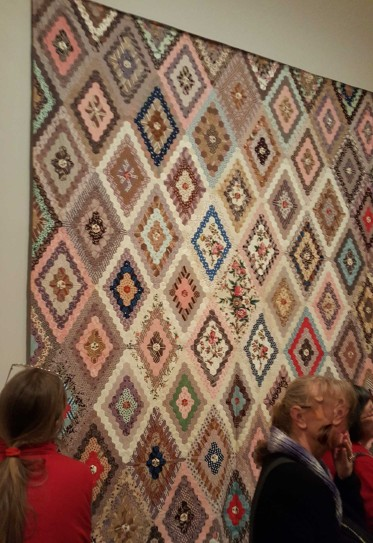 6 'Making the Australian Quilt' Exhibition at the Ian Poter Centre - NGV Australia - Photographed by Karen Robinson - August 2016 NB All images are protected by copyright laws