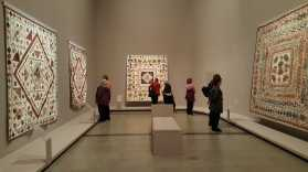 7 'Making the Australian Quilt' Exhibition at the Ian Poter Centre - NGV Australia - Photographed by Karen Robinson - August 2016 NB All images are protected by copyright laws