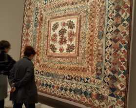 8 'Making the Australian Quilt' Exhibition at the Ian Poter Centre - NGV Australia - Photographed by Karen Robinson - August 2016 NB All images are protected by copyright laws