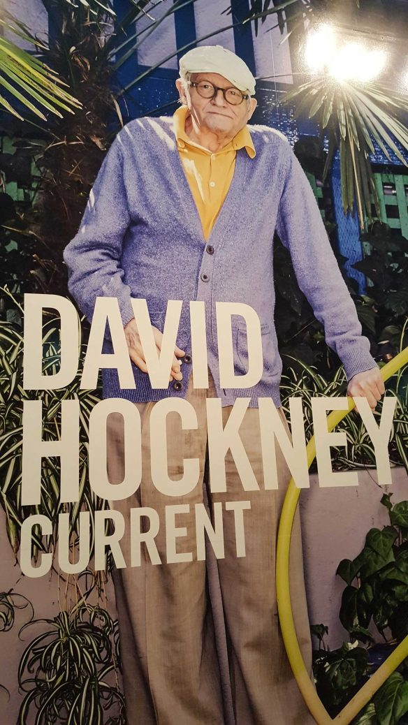 1 David Hockey Current Exhibition at National Gallery Victoria Nov 2016 Photographed by Karen Robinson
