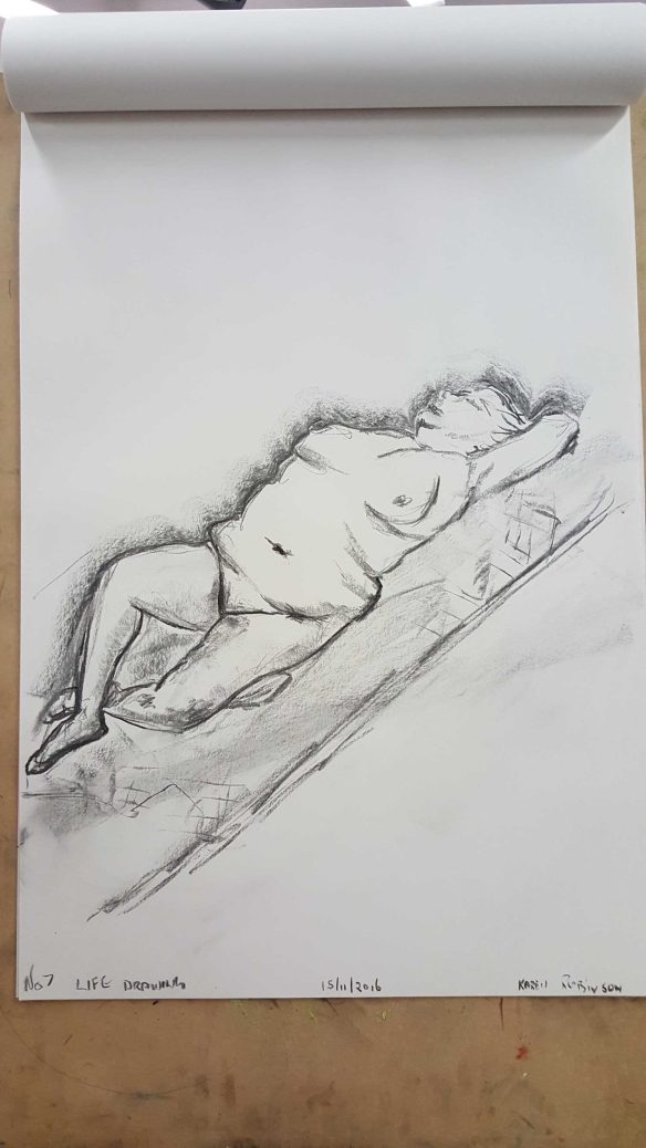 1 of 14 Class 14 'Produce Drawings' CAE Class - Certificate 111 in Visual Arts - Drawing and Photograph by Karen Robinson Nov 16 Images protected by copyright