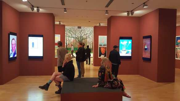12 David Hockey Current Exhibition at National Gallery Victoria Nov2016 Photographed by Karen Robinson