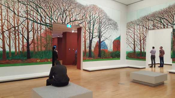 14 David Hockney Current Exhibition at National Gallery Victoria Nov2016 Photographed by Karen Robinson