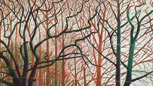16 David Hockney Current Exhibition at National Gallery Victoria Nov2016 Photographed by Karen Robinson