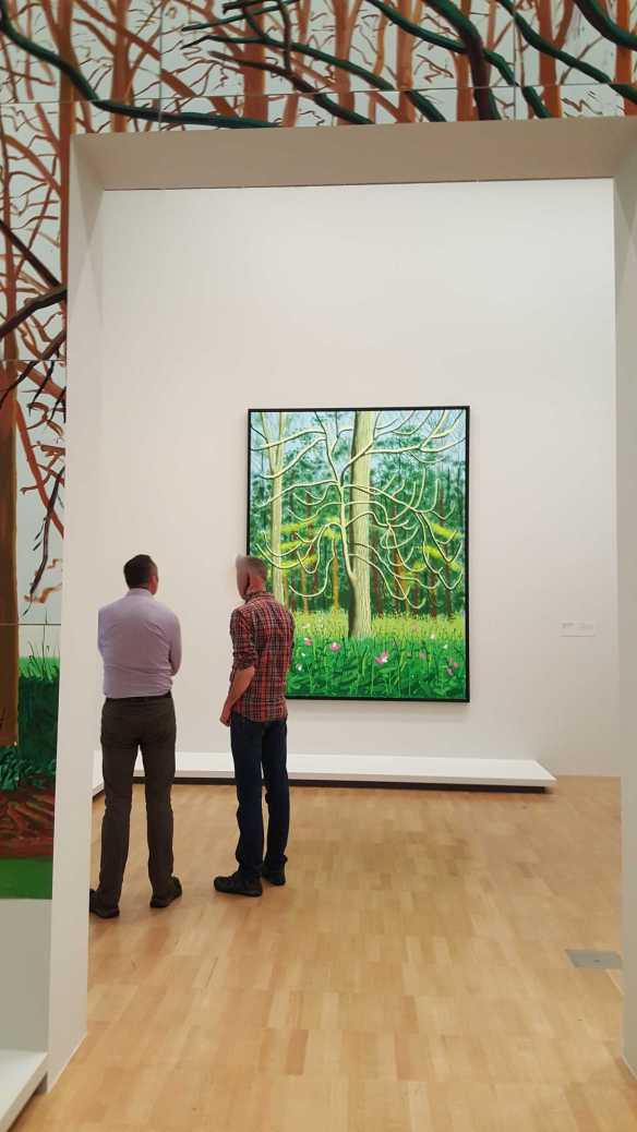 17 David Hockney Current Exhibition at National Gallery Victoria Nov2016 Photographed by Karen Robinson