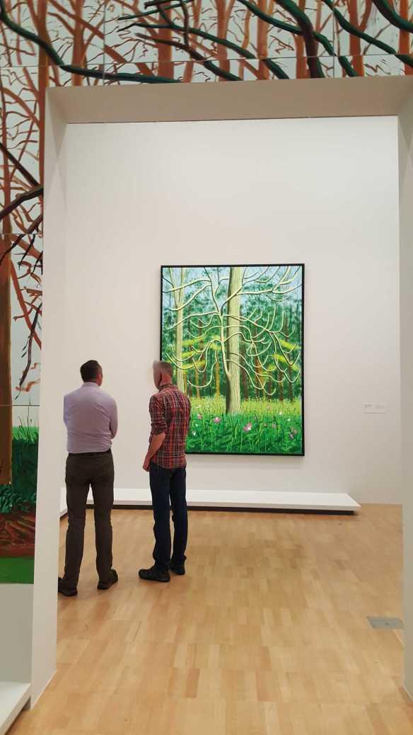 17 David Hockney Current Exhibition at National Gallery Victoria Nov2016 Photographed by Karen Robinson