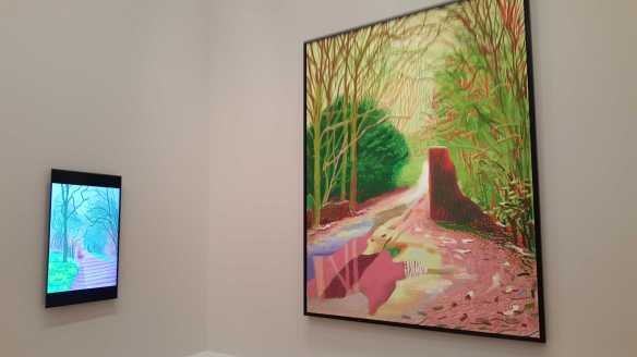 19 David Hockney Current Exhibition at National Gallery Victoria Nov2016 Photographed by Karen Robinson