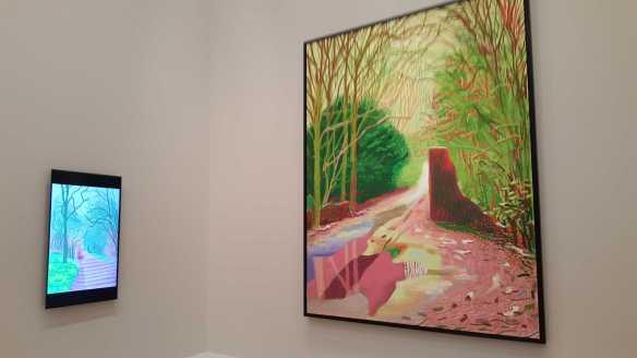 19 David Hockney Current Exhibition at National Gallery Victoria Nov2016 Photographed by Karen Robinson