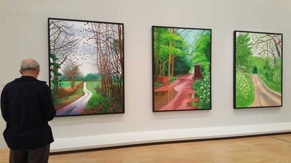 21 David Hockney Current Exhibition at National Gallery Victoria Nov2016 Photographed by Karen Robinson
