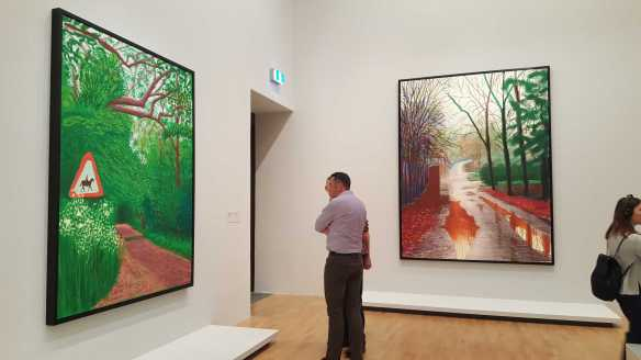 22 David Hockney Current Exhibition at National Gallery Victoria Nov2016 Photographed by Karen Robinson