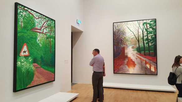 22 David Hockney Current Exhibition at National Gallery Victoria Nov2016 Photographed by Karen Robinson