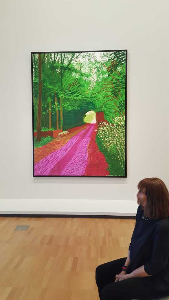 23 David Hockney Current Exhibition at National Gallery Victoria Nov2016 Photographed by Karen Robinson