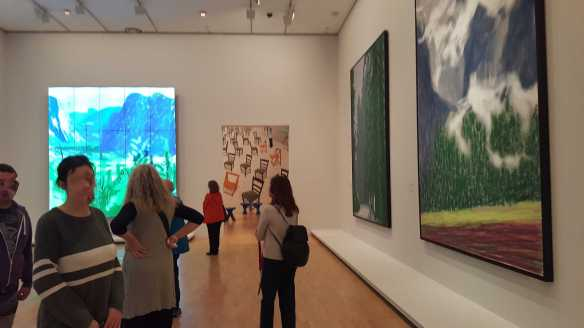 24 David Hockney Current Exhibition at National Gallery Victoria Nov2016 Photographed by Karen Robinson