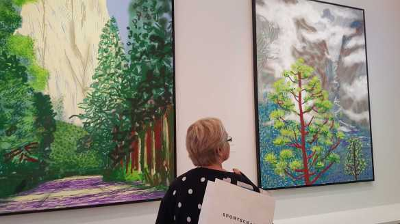 25 David Hockney Current Exhibition at National Gallery Victoria Nov2016 Photographed by Karen Robinson