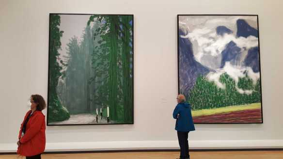 26 David Hockney Current Exhibition at National Gallery Victoria Nov2016 Photographed by Karen Robinson