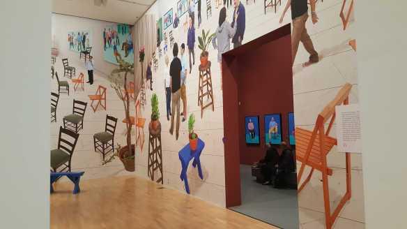 27 David Hockney Current Exhibition at National Gallery Victoria Nov2016 Photographed by Karen Robinson