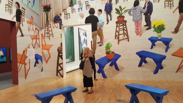 29 David Hockney Current Exhibition at National Gallery Victoria Nov2016 Photographed by Karen Robinson